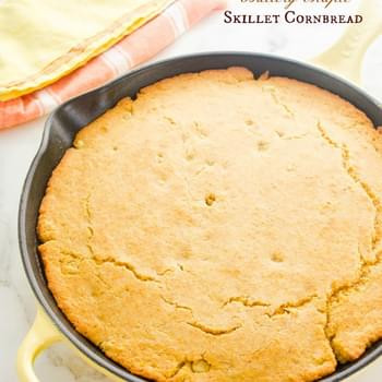 Buttery Maple Skillet Cornbread