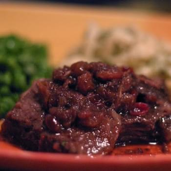 Cranberry Sauce & Cranberry Beef Roast Recipe for the Slow Cooker