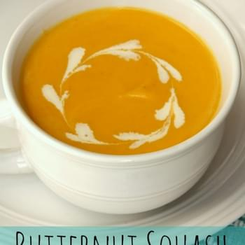 Butternut Squash Soup and Autumn baking blog hop with a giveaway