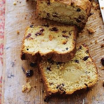 Cranberry And Amaretto Stollen Cake