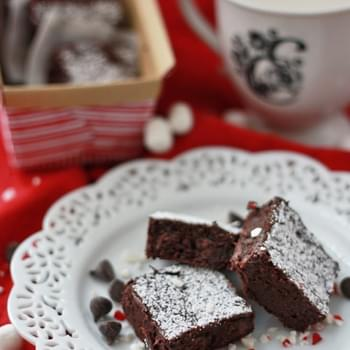 Peppermint Truffle Brownies (GF, DF)