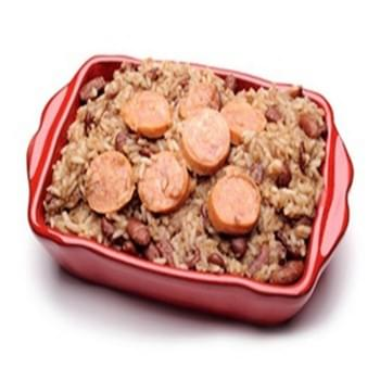 Louisiana Slow Cooked Zesty Red Beans And Rice