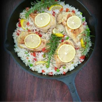 Italian Style – 1 Skillet Rosemary & Lemon Chicken