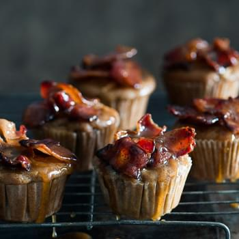 Maple Bacon Apple Muffins
