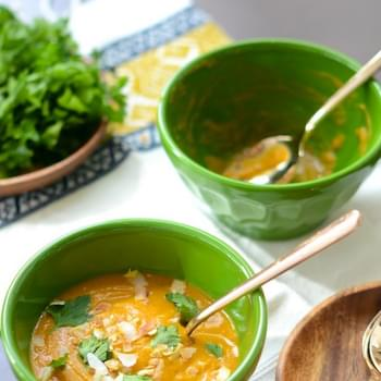 Coconut Carrot Soup