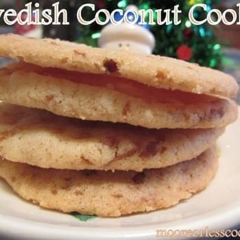Swedish Coconut Cookies