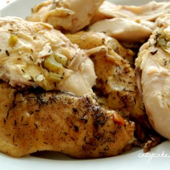 Slow Cooker Whole Chicken