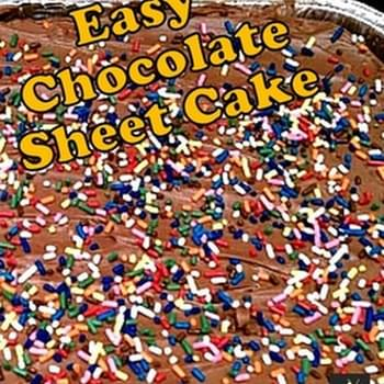 Super Moist Chocolate Sheet Cake