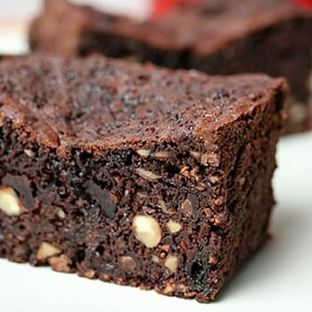 Chocolate-Cherry Fruitcake