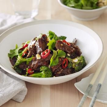 Tasty Asian beef stir fry