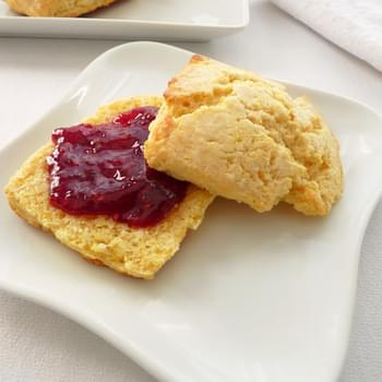 Cornmeal Buttermilk Biscuits