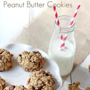 Chia Seed Peanut Butter Cookies