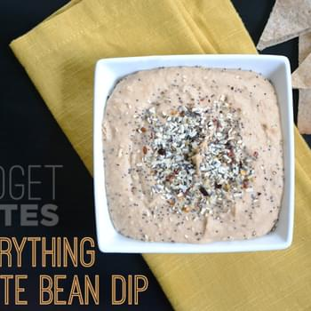 """Everything"" White Bean Dip"