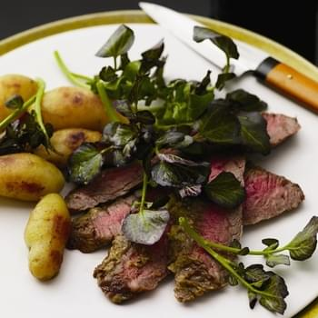 Wasabi Flank Steak