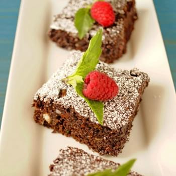 Healthy Snack Idea – Low Calorie Chocolate Chip Brownie