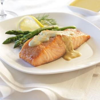 Salmon with Dijon Sauce