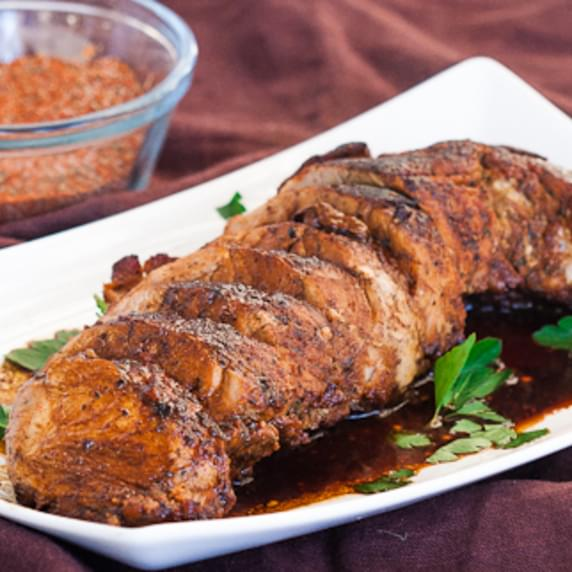 Cajun Honey Pork Tenderloin