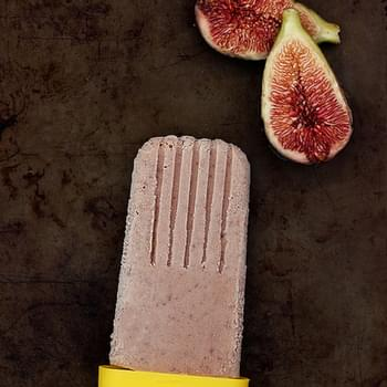 Roasted Balsamic Honey Fig Popsicles (Gluten-free & Dairy-free w/Vegan Option)