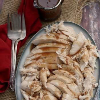 Slow-Cooker Cranberry Turkey Breast with Gravy
