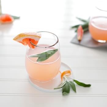 Sage and Grapefruit Mimosa