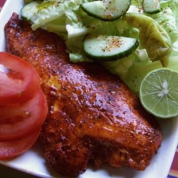 Annatto-Citrus Marinated Chicken