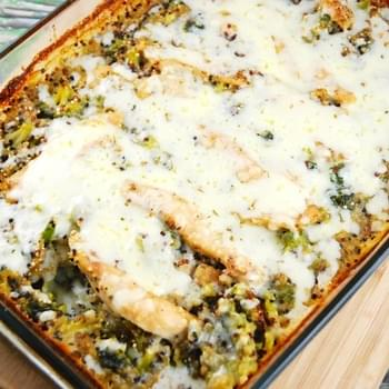 Chicken, Broccoli, Quinoa Casserole