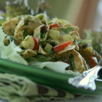 Curried Chicken Lettuce Wraps