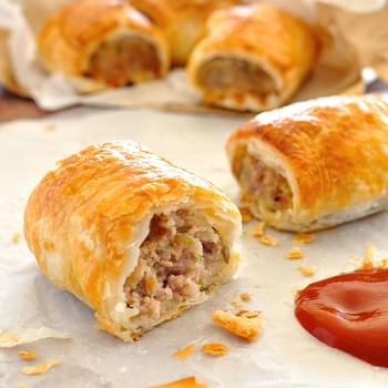 Very Special Pork and Fennel Sausage Rolls