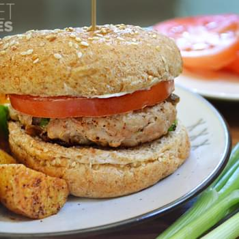 Green Chile Turkey Burgers