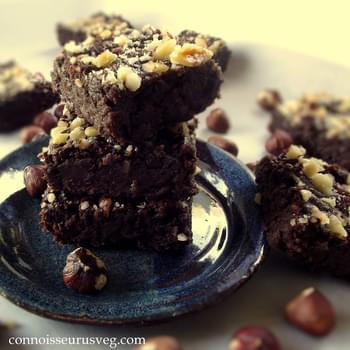 Chocolate Hazelnut Butter Brownies