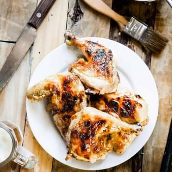 Beer-Glazed Grilled Chicken