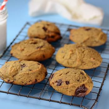 Paleo Chocolate Chip Scones