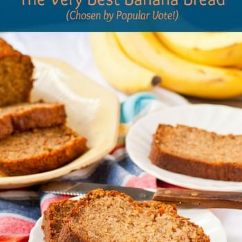 The Best Sour Cream Banana Bread