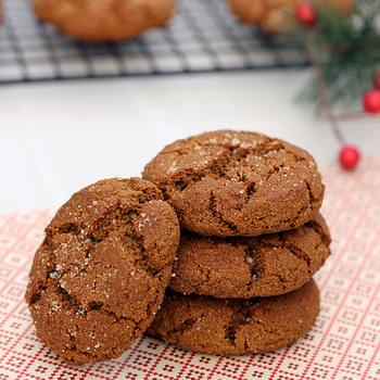 Grain-free Spiced Molasses Cookies – Gluten-free & Dairy-free
