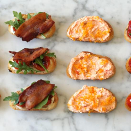 Four Great Crostini