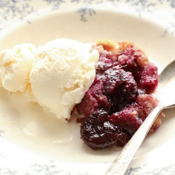 Grandma's Cherry Flop (traditional and gluten free recipes included)