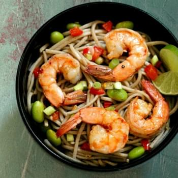 Asian Shrimp with Edamame