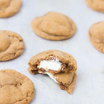 White Chocolate Molasses Cookies