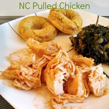 Slow Cooker NC Pulled Chicken