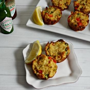 Mini Baked Crab Cakes