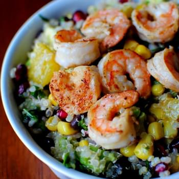 Superfood Salad with Lemon Vinaigrette