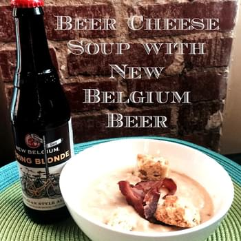 Beer Cheese Soup Recipe with New Belgium Beer