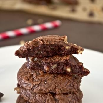 Chocolate Toffee Truffle Cookies and an Announcement