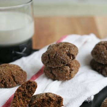 Ginger Molasses Chewy Cookies
