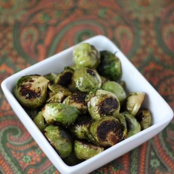 Sherry Charred Brussels Sprouts