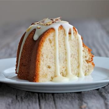 Banana Coconut Pound Cake