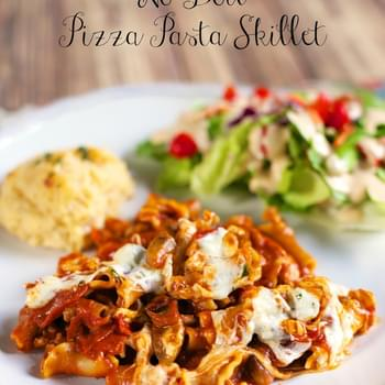 No-Boil Pizza Pasta Skillet