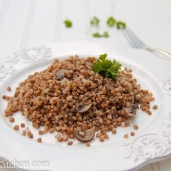 Buckwheat with Mushrooms + 3 Giveaways!