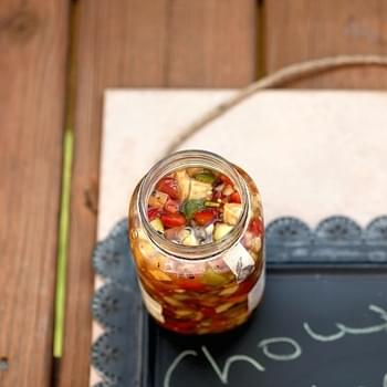 Marinated Summer Vegetable Relish (Chow Chow)