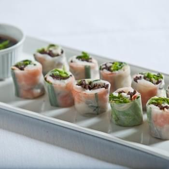 Tiger Shrimp Summer Rolls